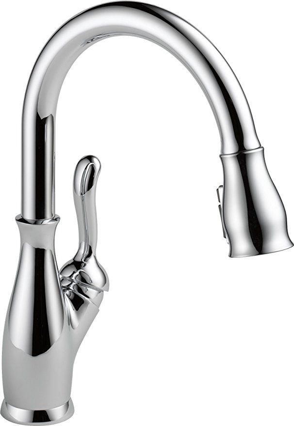 Delta Leland Single Handle Kitchen Pull Down Faucet With Magnetic Docking Spray Head Venetian Bronze 9 Kitchen Sink Faucets Sink Faucets Chrome Kitchen Faucet