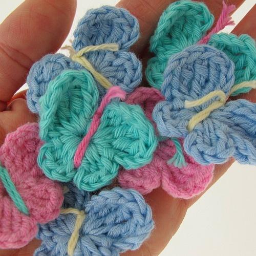 Hand Crocheted Butterflies