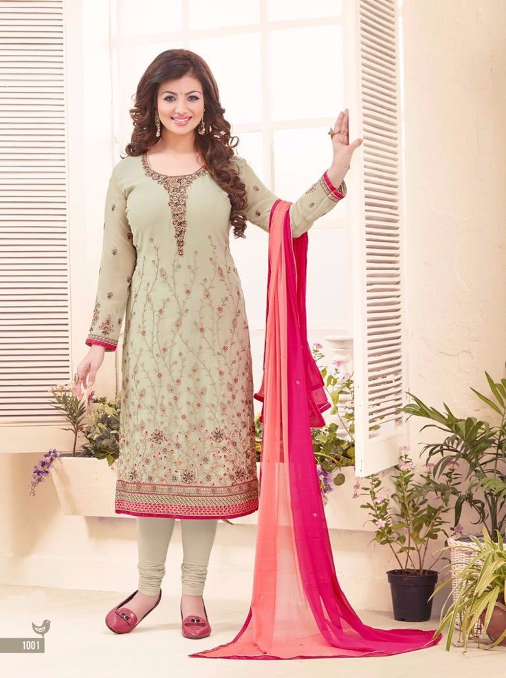 Vinay Embroidery Work Salwar Suit for Girls