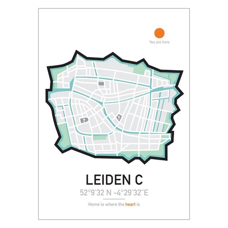 Poster | City | Leiden | Maps | Travel
