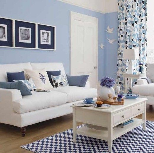 Blue living room ideas are not always about what blue items to place in the room in order to create a better-looking interior design. These can also be about something more specific, such as the choice of shade of blue to be applied in the room. For you to know, different shade of blue can