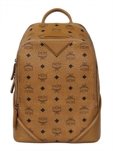 MCM Mcm Printed Backpack. #mcm #bags #leather #backpacks #