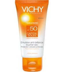 CAPITAL SOLEIL LO MEJOR DE LA PROTECCIÓN SOLAR DE VICHY EN TEXTURAS ULTRA-PLACENTERAS. Protege todas las pieles, incluso las sensibles, de los efectos nocivos de los rayos UV. Texturas ultra-sensoriales que incitan a protegerse.