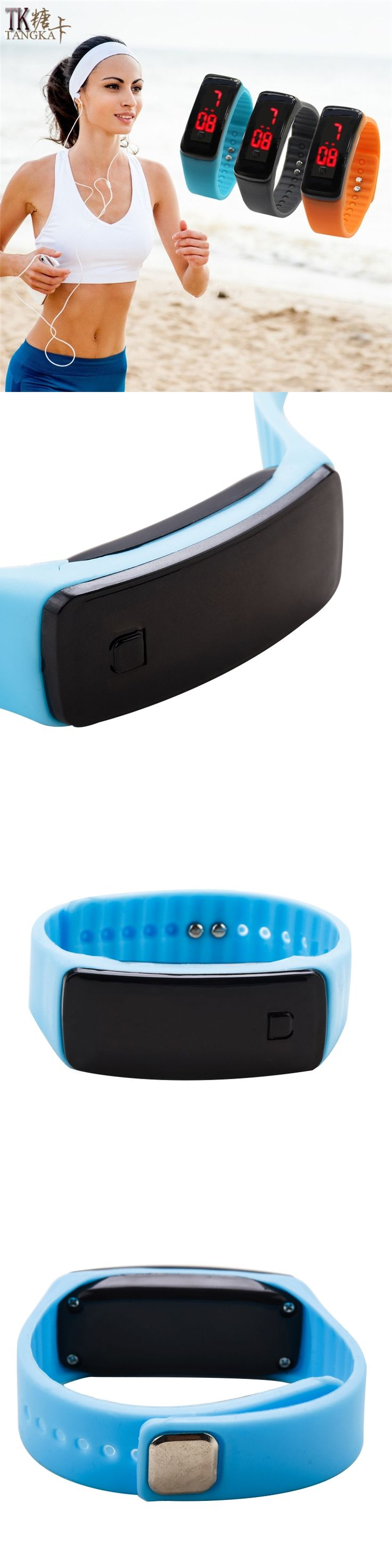 Hot LED Watch women and Men Sports Digital Wrist Watches Fashion rubber bracele tmontre digital watches Reloj Hombre