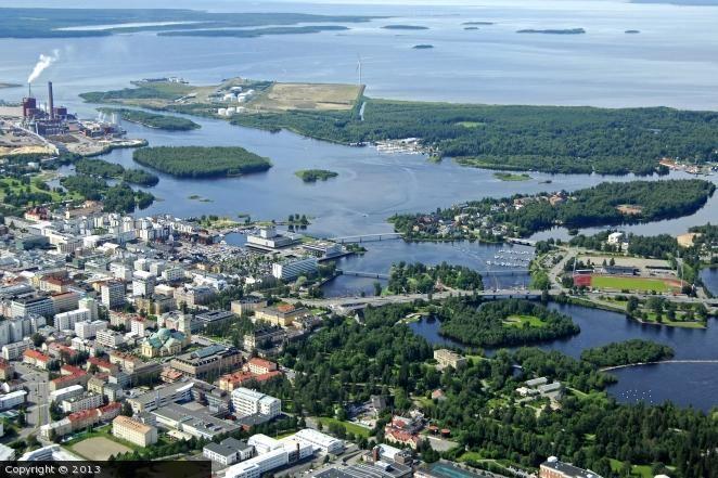 finland Oulu   Oulu Harbour, Oulu, Finland