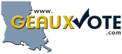 Geaux Vote - Orleans & Jefferson Parish Election: 10/19/2013. Find your polling place and complete ballot here: http://www.sos.la.gov/ElectionsAndVoting/GetElectionInformation/ReviewSampleBallots/Pages/default.aspx or mobile app https://geauxvotemobile.sos.la.gov/main.html. Issues: Magistrate Section, Criminal District Court; Judge Traffic Court, Division D; City Charter Section 4-704 and Sewerage and Water Board