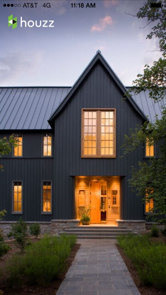 Grey panelling + entryway