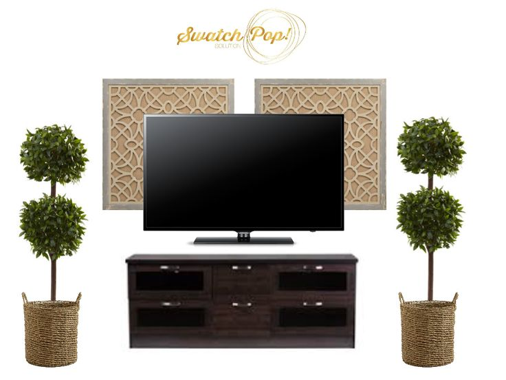 Wall Decor Behind Flat Screen Tv : Best decorate around tv ideas on wall