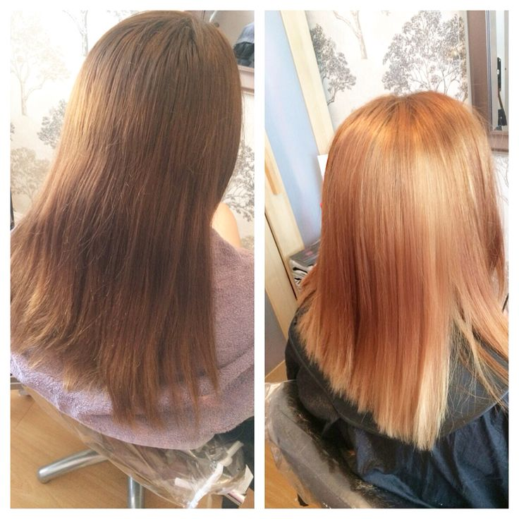at the weekend i did a colour change