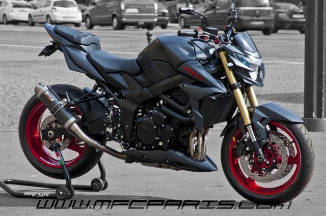 2 SUZUKI GSR 750 GSR 750 BC-030 MFC Design - Préparation motos, peinture, design, tuning, Suzuki - Kawasaki