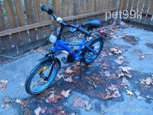 """16""""-os sötétkék gyerek kerékpár eladó - Gyerekkerékpár"""