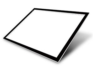 Huion LED Light Pads take care of your eyes Diffuse reflection effect make the light more evenly which is good for protecting your eyesight