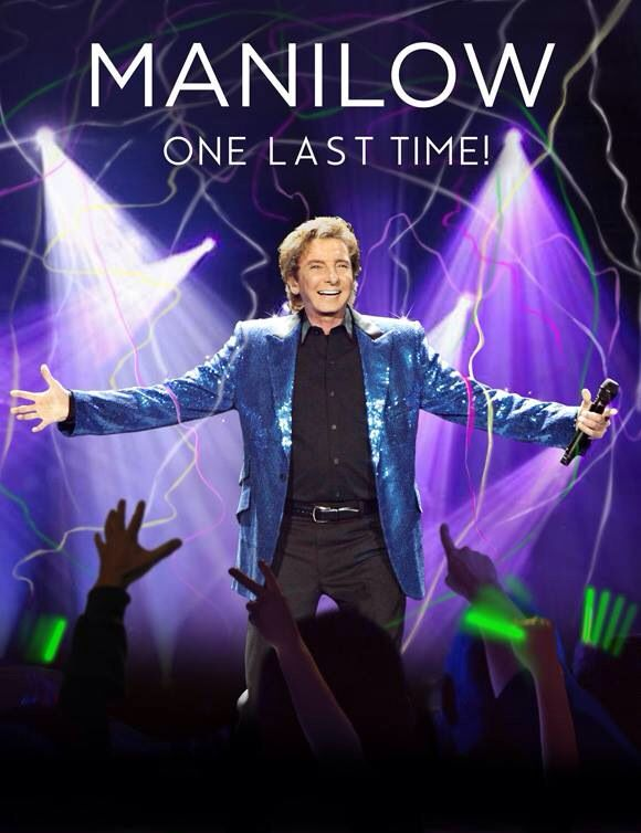 Barry Manilow. I went to that concert!!!!