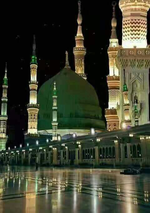 المسجد النبوي (...absolutely beautiful. it's amazing how this can go from someone's mind, a dream really, to a structure that looks as though it could breathe, art... in its most tangible form!) J
