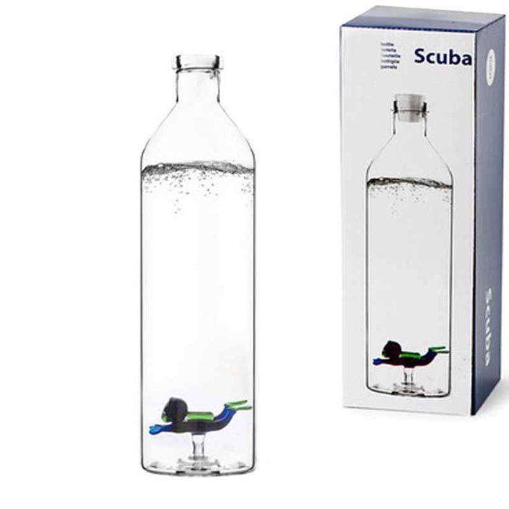 Botella agua 1.2L Buceador