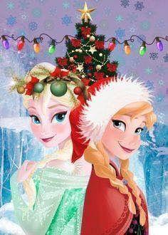 Frozen Christmas Disney Princess Cruise Plan Wallpaper Elsa Anna