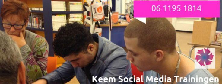 http://wwwKeemSocialMediaTrainingen.nl ...van account tot netwerk. voor kleine bedrijven - trainingen en consultancy.