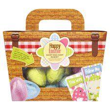 Easter Egg Hunt : Tesco Egg Hunt Basket 385G £6.19