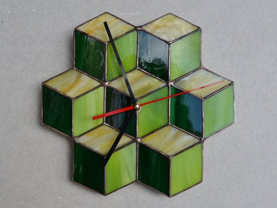 64 best Wall Clocks images on Pinterest Stained glass Wall