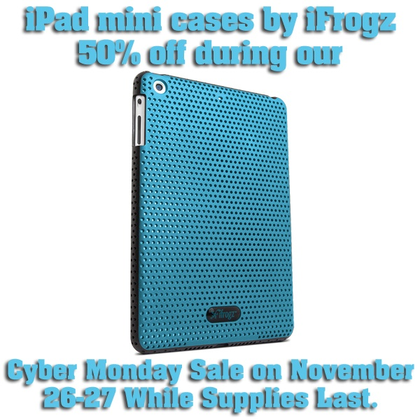iPad mini cases by iFrogz  zagg on facebook contest take a look