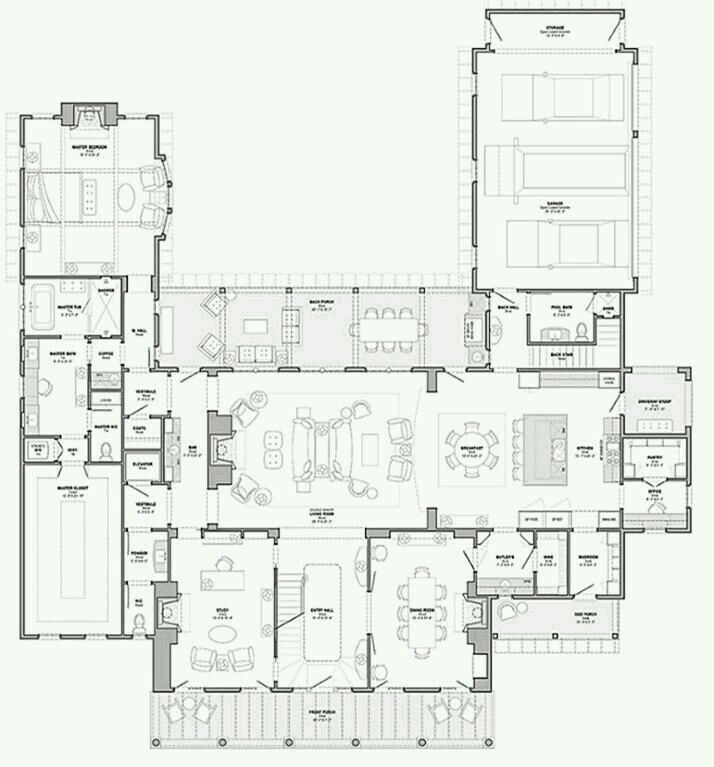 No Need For Second Floor I Would Shrink Master To Put In Two Small Rooms