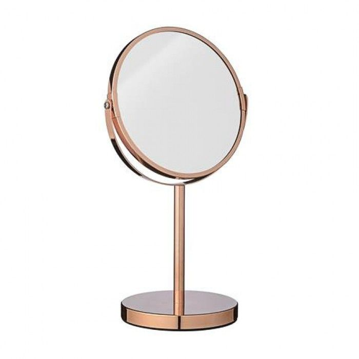 BLOOMINGVILLE Mirror two sided with Magnification Copper