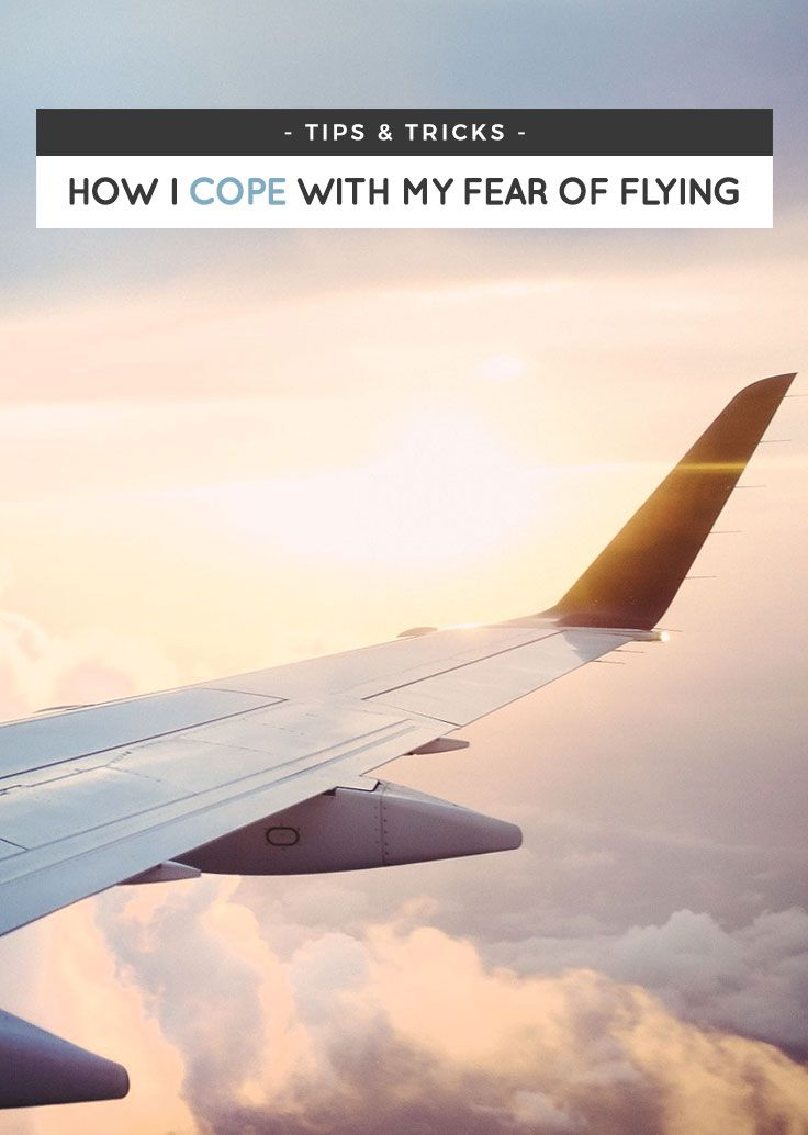 Do you also have a fear of flying? Don't worry. It's always something that you can cope with, if not overcome! Here are a handful of tips to help you out. via http://iAmAileen.com/how-to-overcome-fear-of-flying/ #phobia #travel #airplane