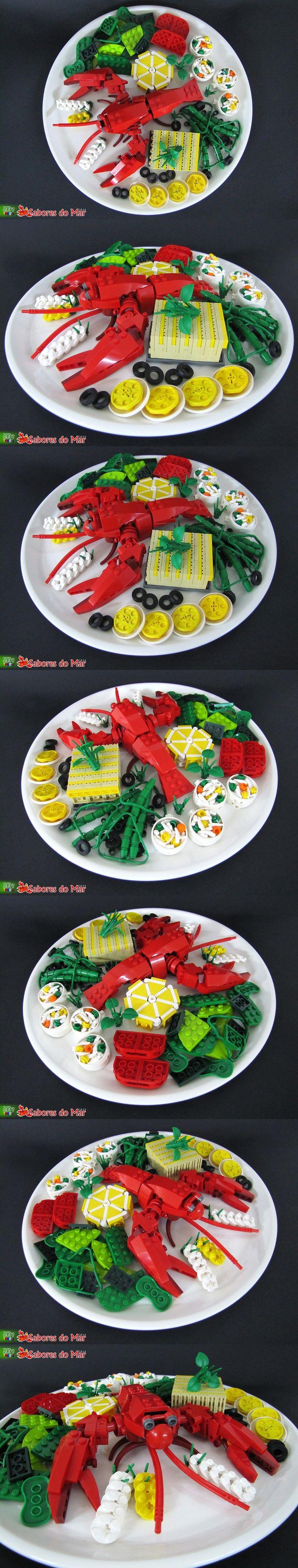 Lego food by Filipe Alves on Flickr