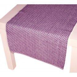 Prostírání Polka fialová 40 x 120 cm