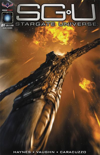 Recommended by Trevor Richardson</br> The exciting conclusion of the fan favorite sci-fi series that left us too early kicks off in Stargate Universe: Back to Destiny #1!