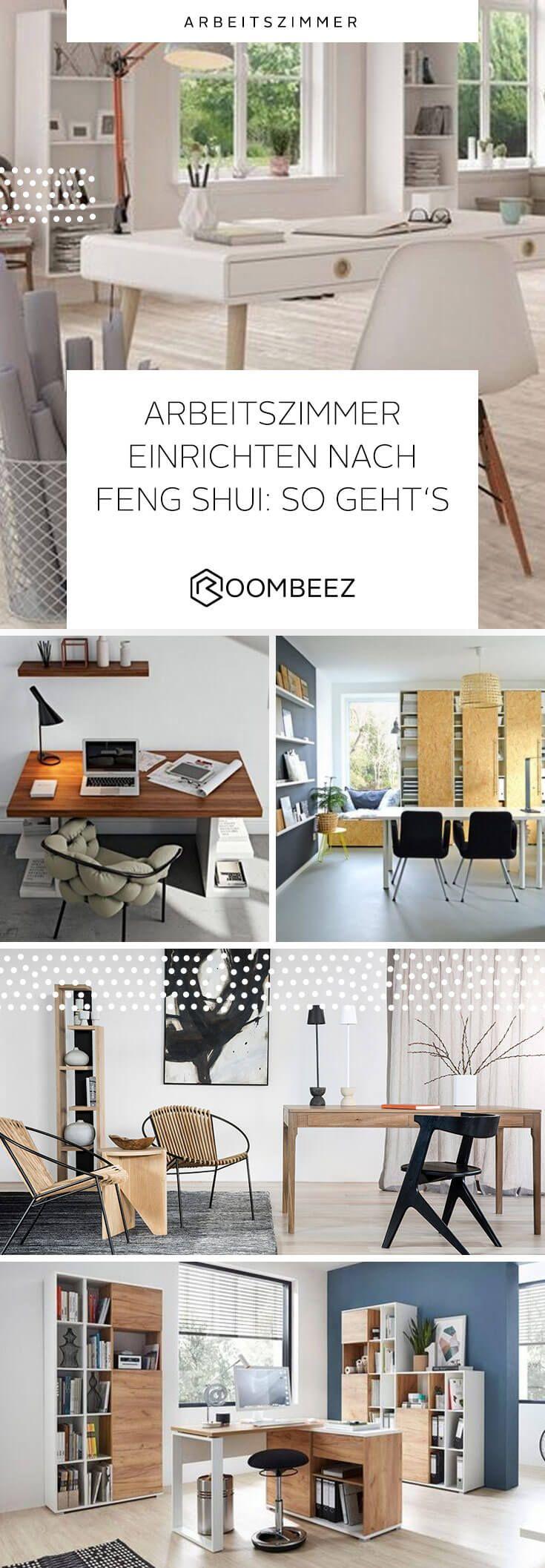 Arbeitszimmer einrichten » nach Feng Shui Arbeitszimmer