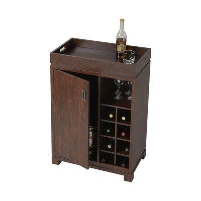 Mini Bar Liquor Cabinet | Details about Liquor Cabinet Mini Bar Wine Rack Storage Cart Pub Small ...