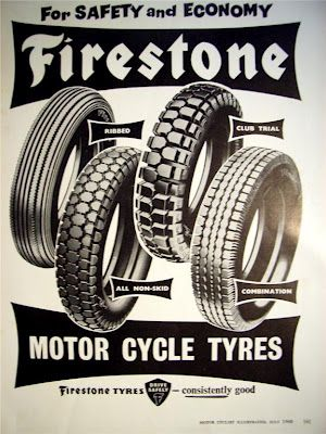 Vintage Rubber for your Cafe Racer - Firestone Tyres