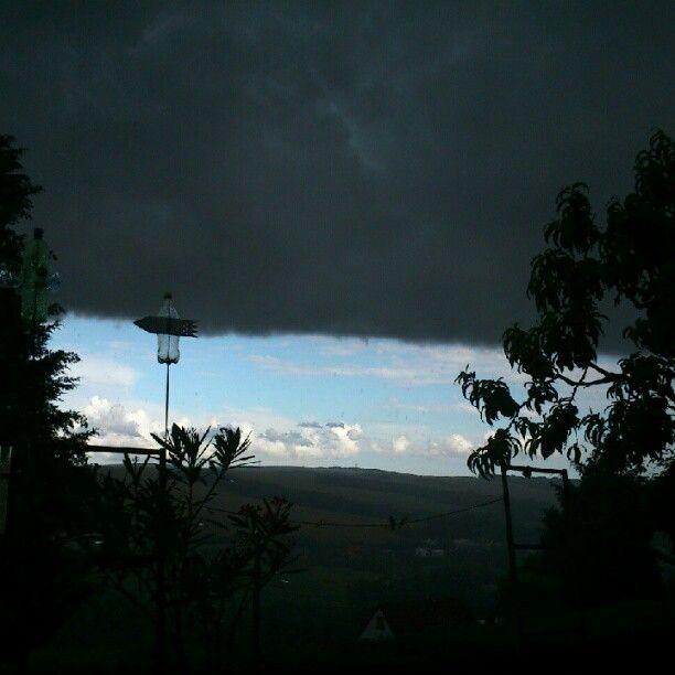 cloudy vs. sunny