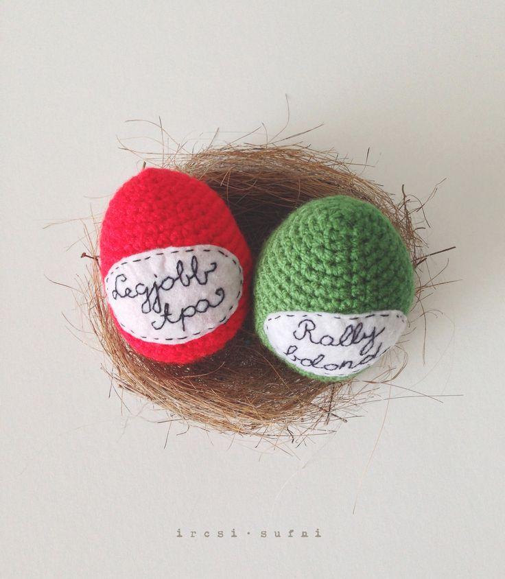 Easter eggs #crochet #easter #hungary