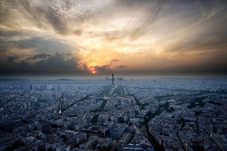 Wer bekommt bei diesem Anblick nicht Lust auf einen Städtetrip nach Paris? Wohl kaum jemand... Die passenden Kurztrip Paris Angebote gibt's bei #Travelcircus #paris #panorama #skyline