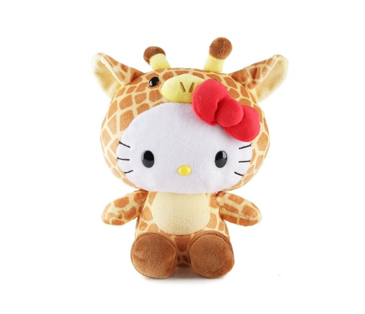 "Hello Kitty 8"" Plush: Giraffe"