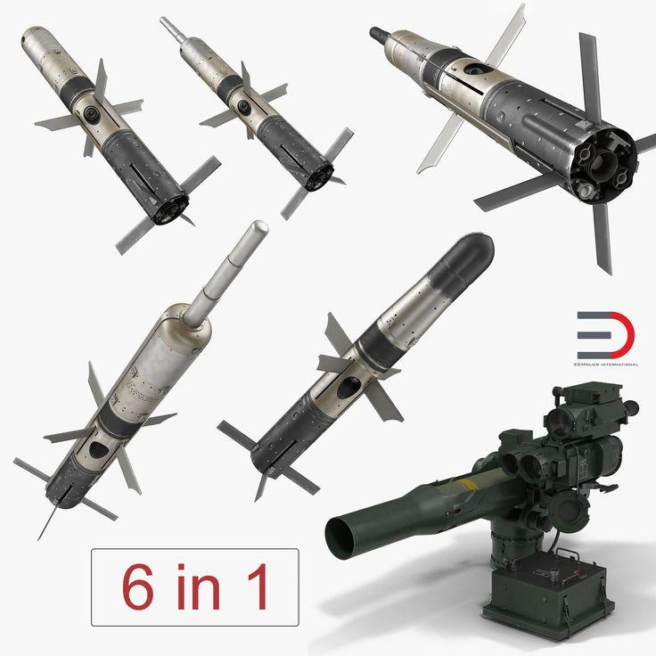 3D Bgm 71 Tow Bgm 71 - 3D Model