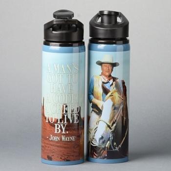 John Wayne Steel Water Thermos   John Wayne
