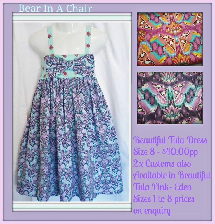Handmade By Bear In A Chair Beautiful Tula Dress