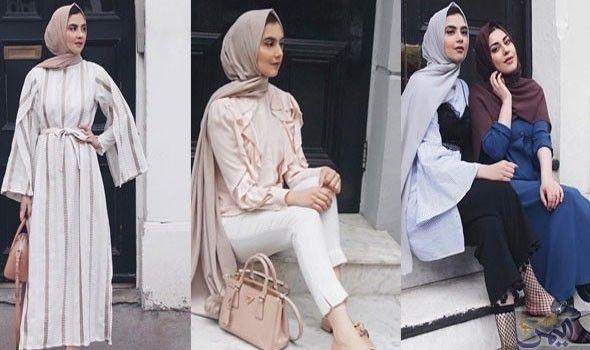 مجموعة أزياء للمحجبات مستوحاة من مدونة الموضة زارا Fashion Islamic World Hijab
