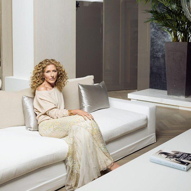 Kelly Hoppen in her home