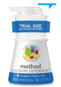 FREEBIE ALERT:  Free 8-Load Bottle of Method Laundry Detergent  **GREAT DONATION ITEM IF YOU DON'T WANT IT**