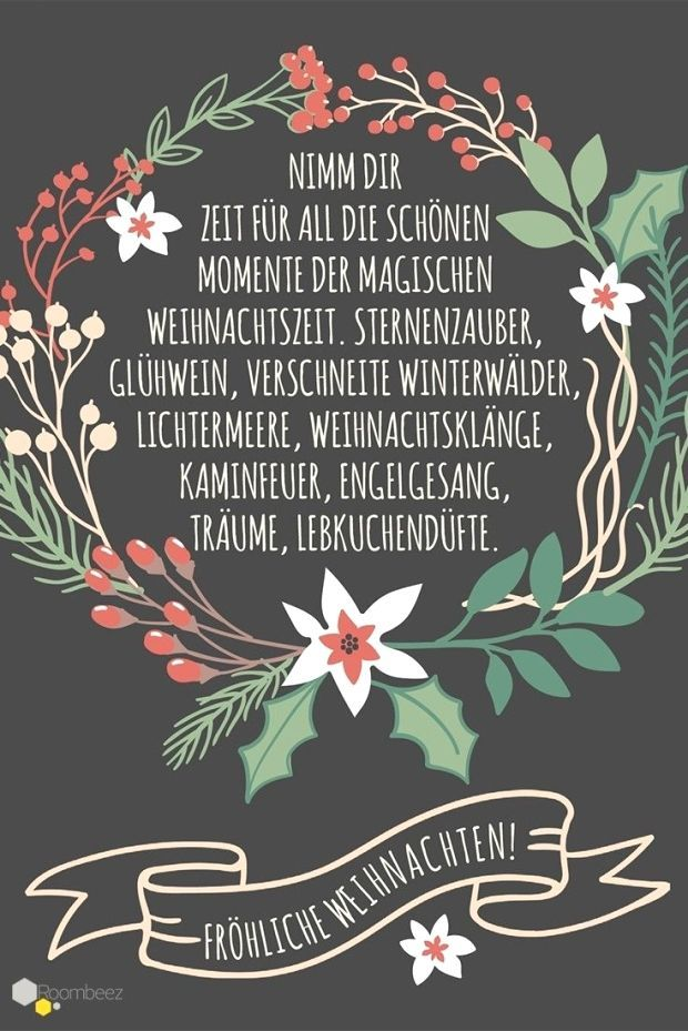 Roombeez 30 Wunderschone Weihnachtsgrusse Fur Festliche Diy