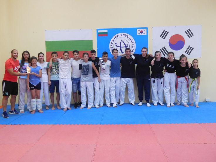 Προπόνηση με Σύλλογο της Βουλγαρίας