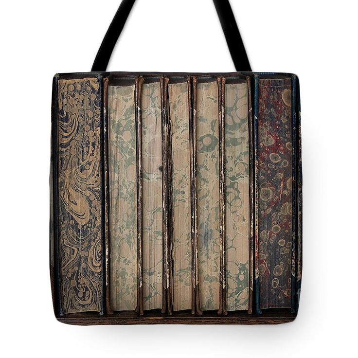 Books Tote Bag featuring the photograph Old Books by Sverre Andreas Fekjan