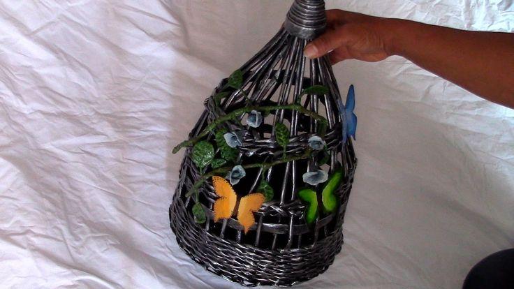 JAULA DECORATIVA - BIRD CAGE