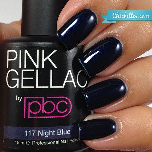 Pink Gellac #117 Night Blue available at Chickettes Boutique