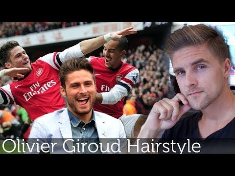 Olivier Giroud Hairstyle | Arsenal FC Premier League player | Dynamite clay By Vilain - YouTube