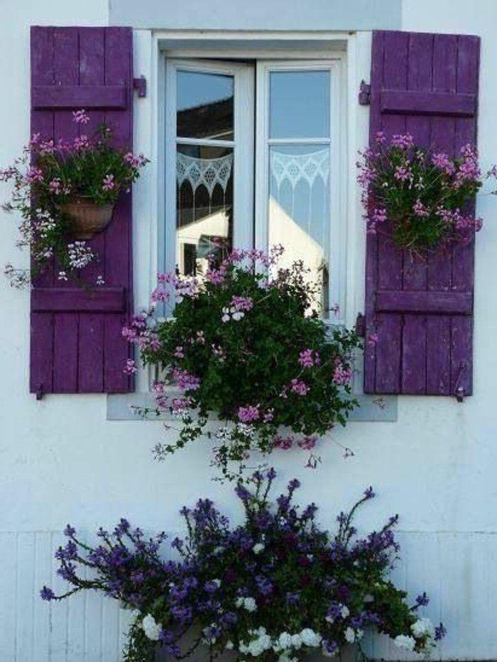 Die Fensterläden – die romantische Bekleidung der Fenster – Archzine.net